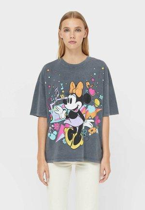 OVERSIZE DISNEY - Print T-shirt - dark grey