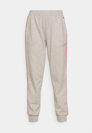 PRIDE TRACKPANTS - Pyjama bottoms - grey mel