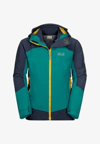 Jack Wolfskin - ROPI 3IN1 - Soft shell jacket - green ocean - 0