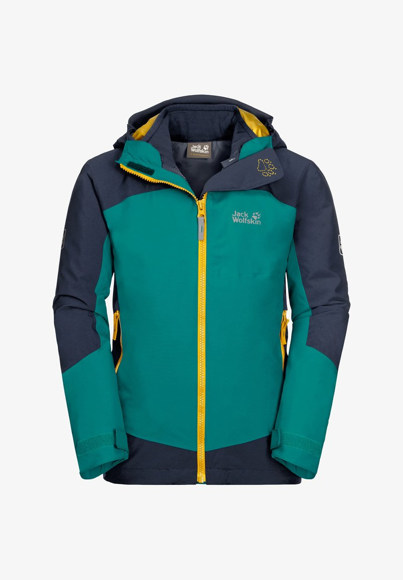 Jack Wolfskin - ROPI 3IN1 - Soft shell jacket - green ocean