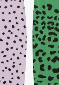 WAUW CAPOW by Bangbang Copenhagen - HARLEY - Leggings - green/purple - 3