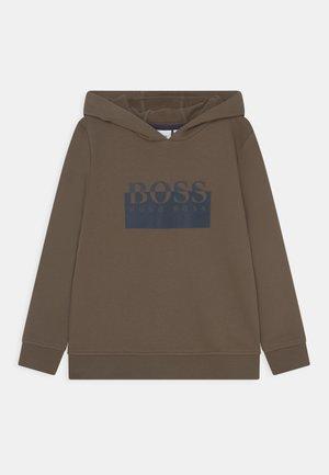 HOODED - Sweatshirt - khaki