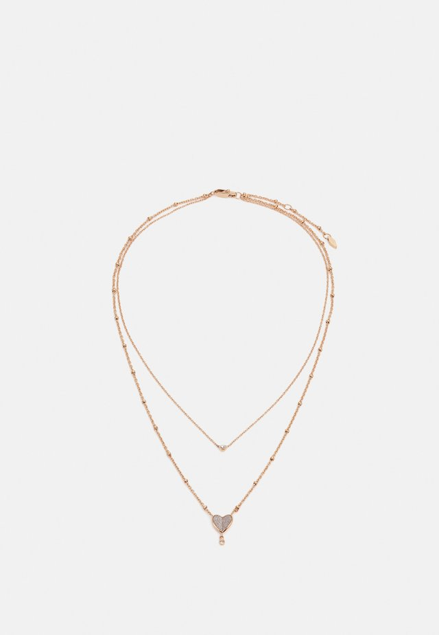 VINTAGE GLITZ - Necklace - rose gold-coloured