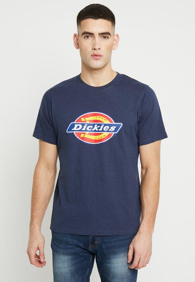 HORSESHOE TEE - T-shirts med print - navy