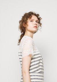 TWINSET - Day dress - stuoia avorio blu - 4