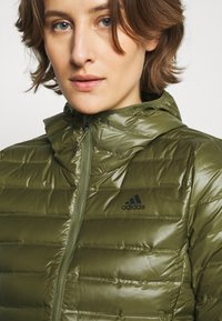 adidas Performance - VARILITE - Down jacket - green - 3