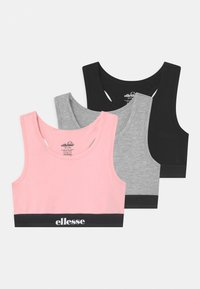 black/grey marl/pink