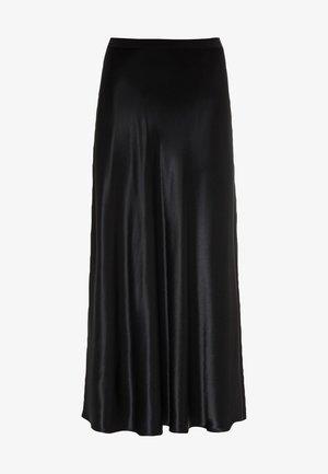 ROCK SWIRLING - A-line skirt - schwarz