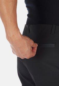 Mammut - MACUN - Trousers - black - 4