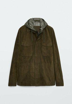 HEMDJACKE  - Light jacket - khaki