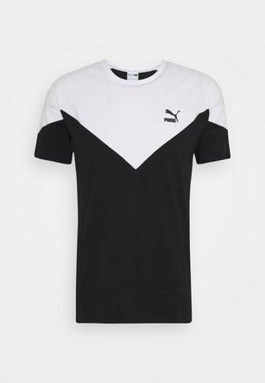 ICONIC TEE - T-shirt med print - black