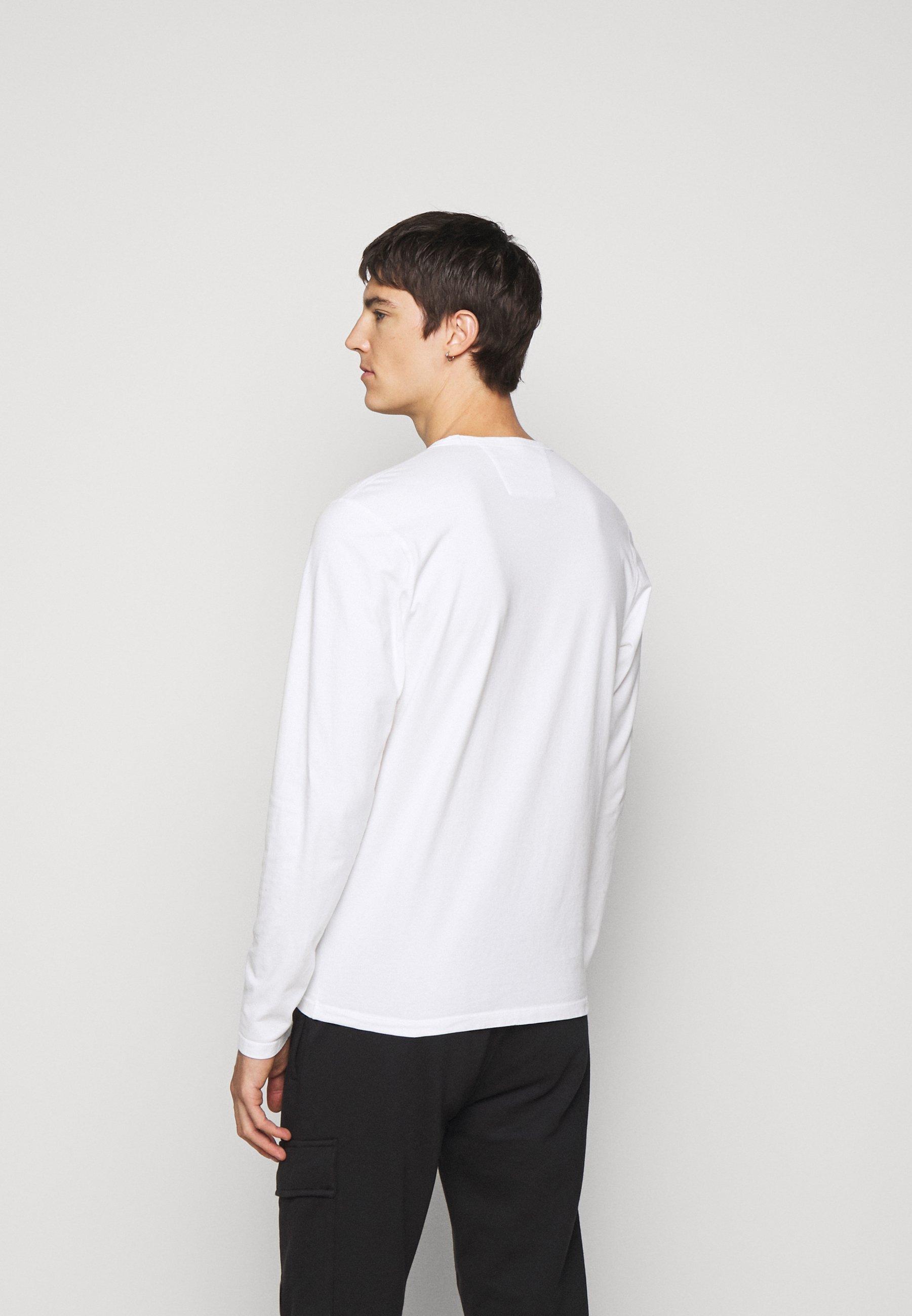 C.P. Company Long sleeved top - gauze white UZxeg