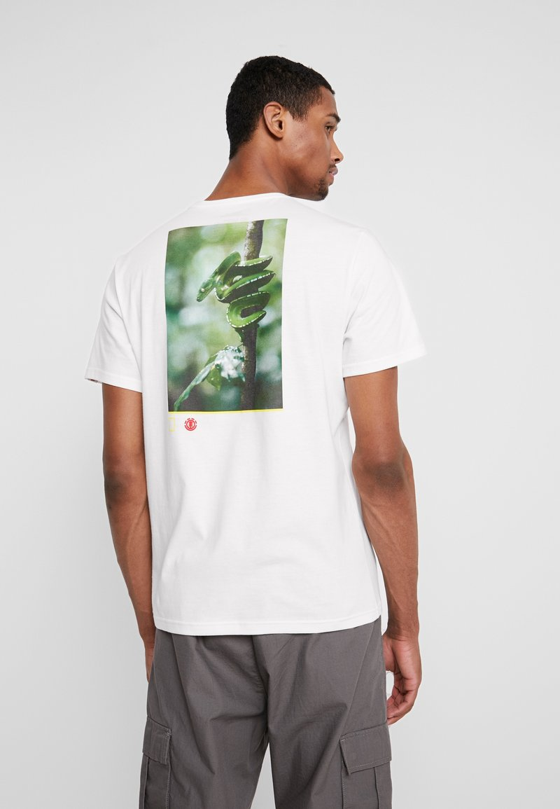 Element - SERPENT  - Printtipaita - off white