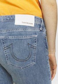 True Religion - NEW HALLE - Skinny džíny - blue denim destroyed - 5