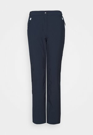 WOMAN PANT - Snow pants - black/blue