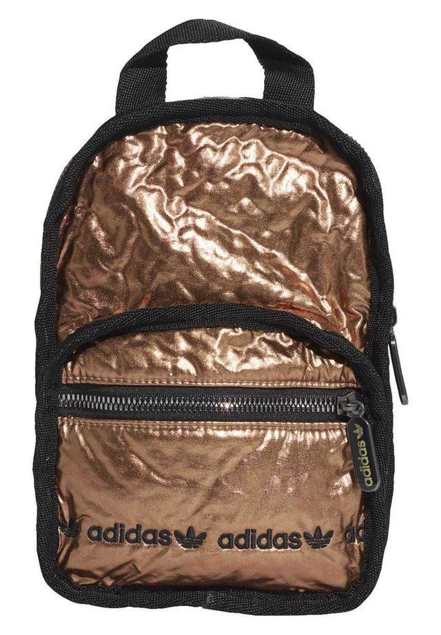 MINI BACKPACK - Mochila - gold