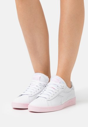 GAME SOLE BLOCK - Sneakers laag - super white/parfait pink