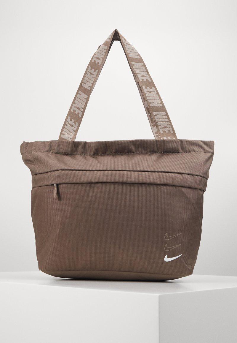 Nike Sportswear - ADVANCED - Handbag - olive grey/enigma stone/white