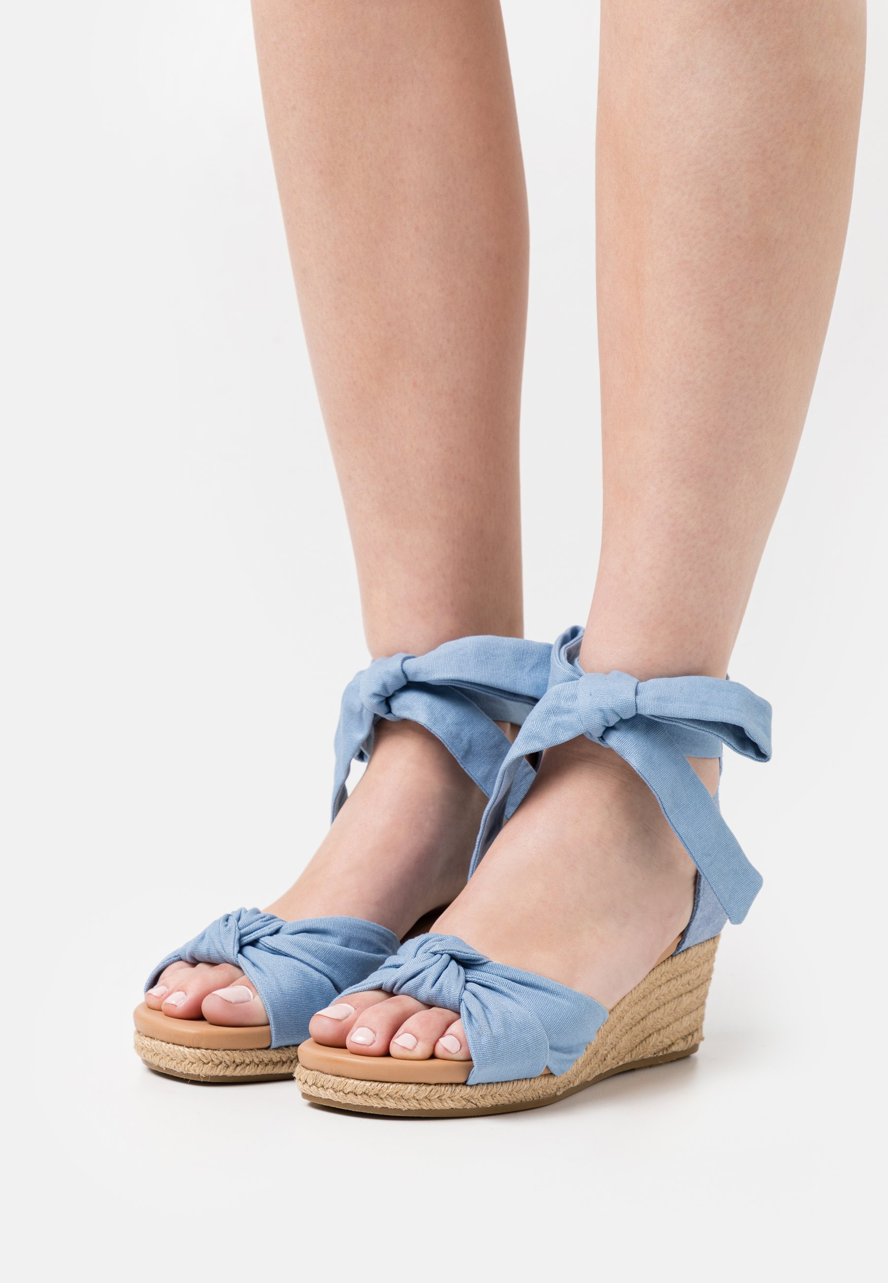 Women YARROW - Platform sandals - blue
