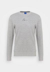 JORSCRIPTT CREW NECK - Sweatshirt - light grey melange