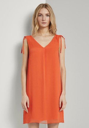 ÄRMELLOSES  - Day dress - strong flame orange