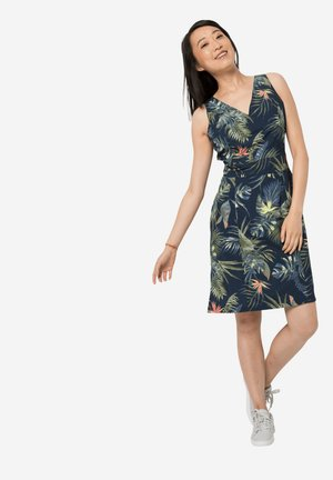 Day dress - midnight blue all over