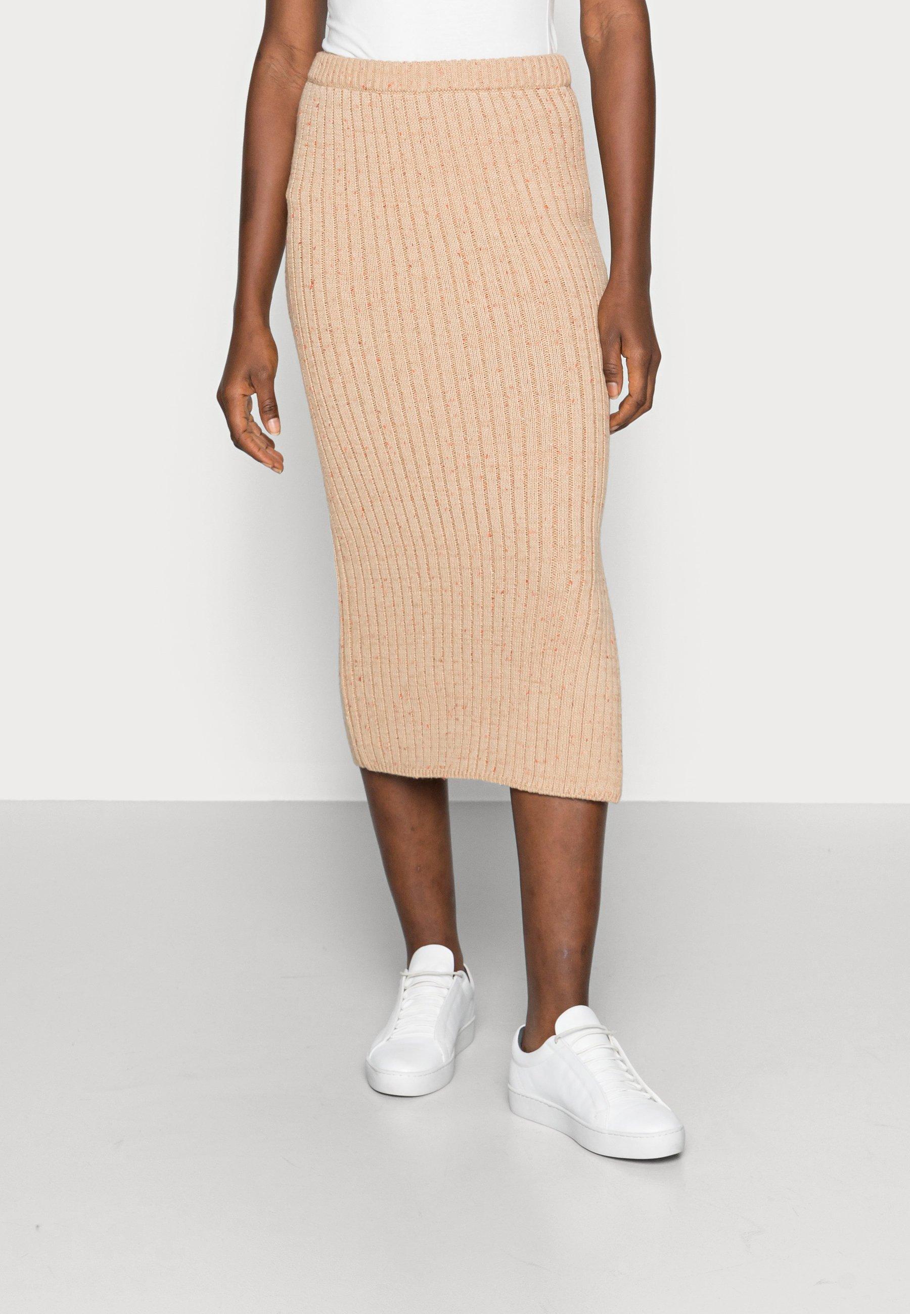Women AMBER MIDI SLIM SKIRT - Pencil skirt