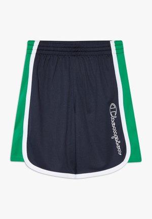 PERFORMANCE - Sports shorts - dark blue/green/white