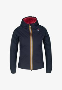 K-Way - THERMO PLUS. 2 DOUBLE - Down jacket - blue maritime-red claret - 0