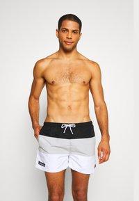 Ellesse - CIELO - Swimming shorts - black/grey/white - 0
