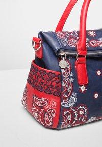 Desigual - EXPLOSIVE LOVERTY - Handbag - blue - 4
