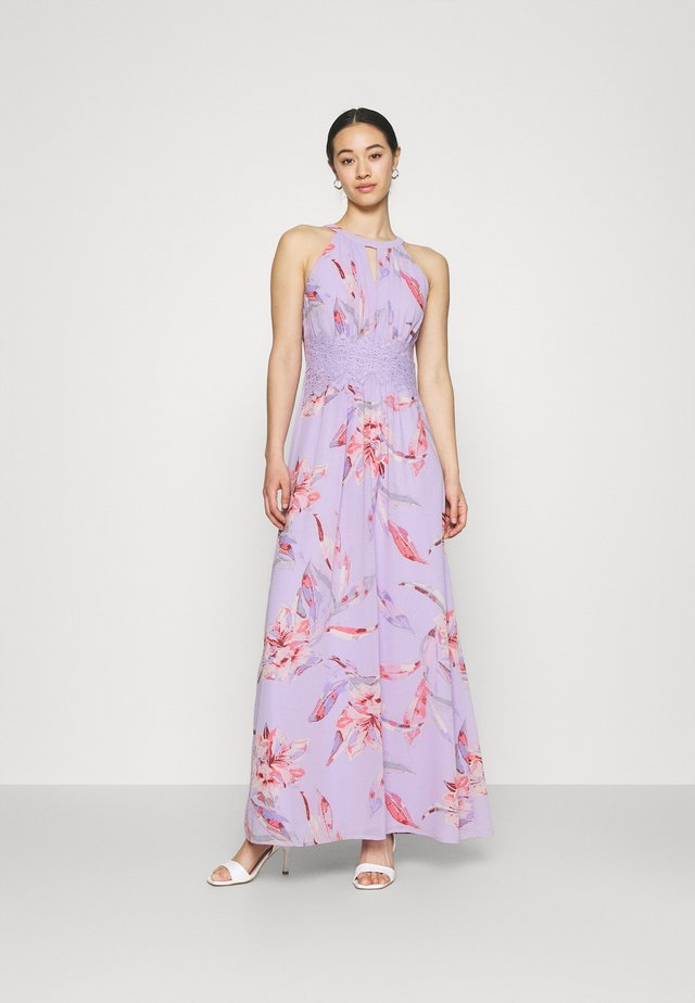VIMILINA FLOWER DRESS - Abito da sera - orchid petal/lana