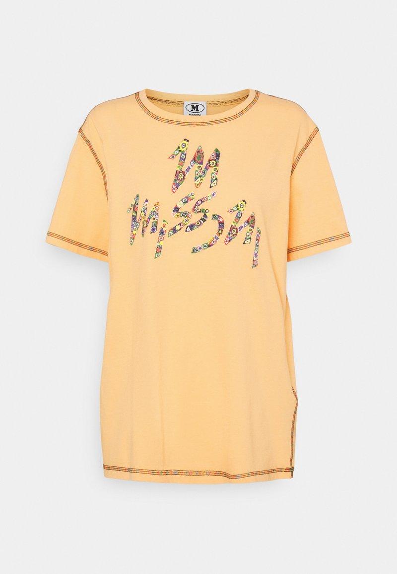 M Missoni - MANICA CORTA - Print T-shirt - orange