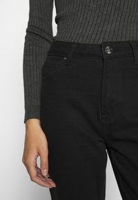 ONLY - ONLEMILY LIFE - Džíny Straight Fit - black denim - 5