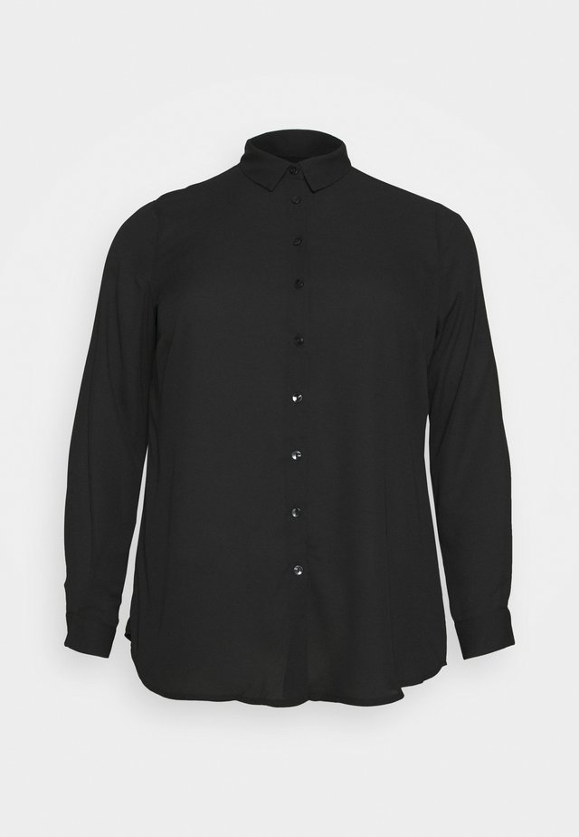 PLAIN SHIRT - Chemisier - black