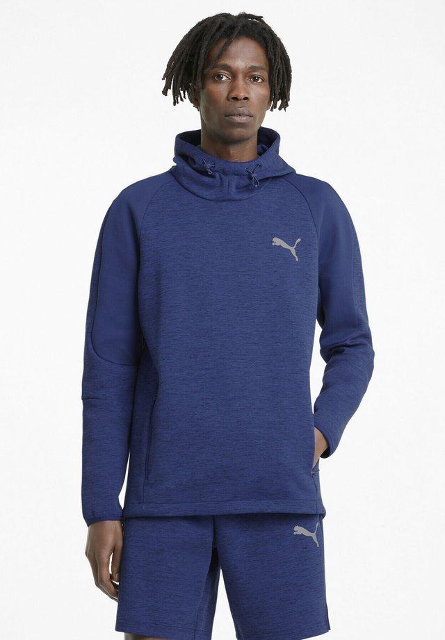 EVOSTRIPE  - Hoodie - elektro blue