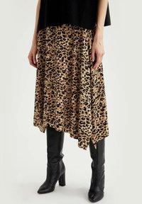 DeFacto - A-line skirt - beige - 0
