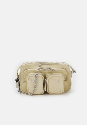 HELENA CROCO - Across body bag - white
