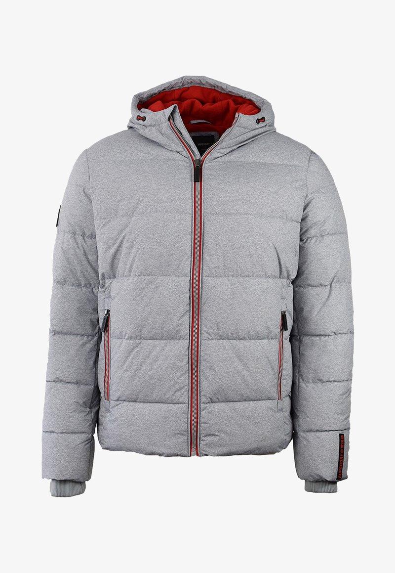 Superdry - Chaqueta de invierno - grey marl/risk red