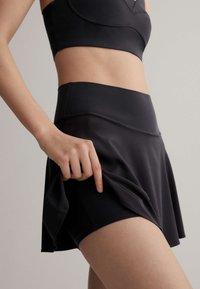 OYSHO - Sports skirt - black - 3
