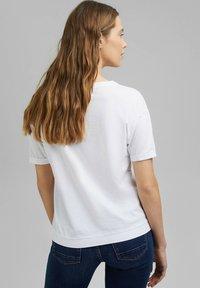Esprit - Basic T-shirt - white - 2
