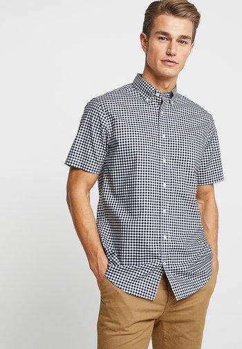 BROADCLOTH GINGHAM SLIM - Shirt - marine