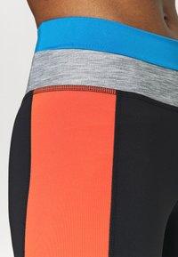 Nike Performance - ONE 7/8 - Medias - black/light photo blue/chile red/black - 5