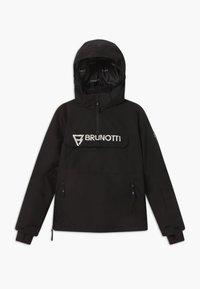 Brunotti - ORIN BOYS - Snowboardová bunda - black - 0