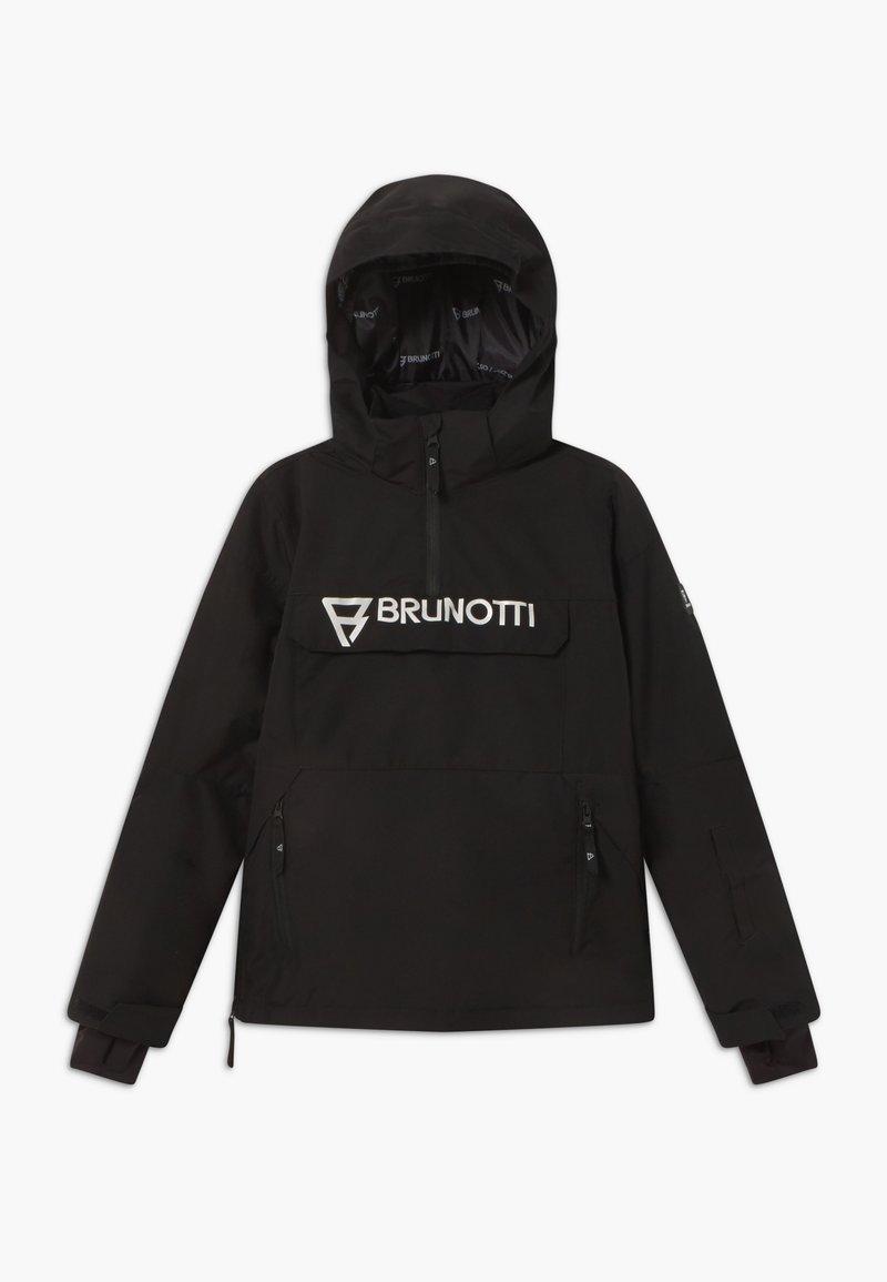 Brunotti - ORIN BOYS - Snowboardová bunda - black