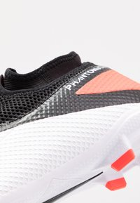 Nike Performance - PHANTOM VISION 2 ACADEMY DF FG/MG - Moulded stud football boots - white/black/laser crimson - 5
