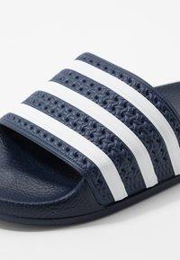 adidas Originals - ADILETTE - Mules - legend ink/footwear white - 2