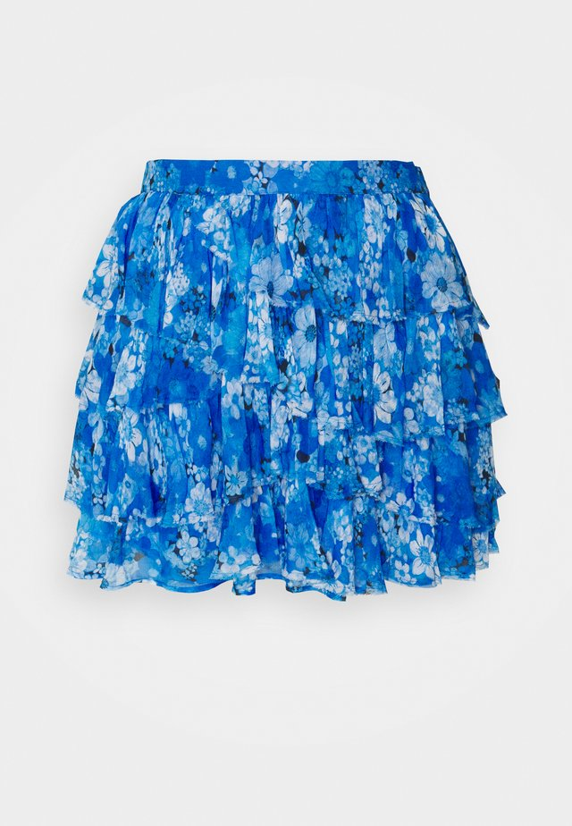 SKIRT - Spódnica mini - blue