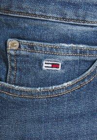 Tommy Jeans - SHORT SKIRT - Mini skirt - blue denim - 5