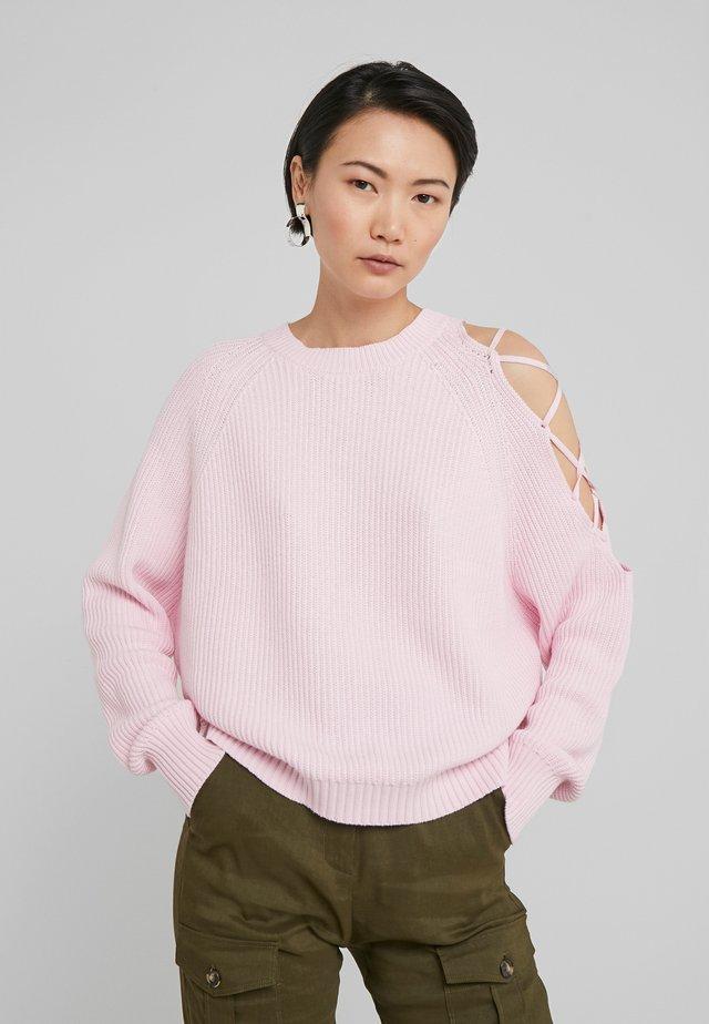 LAVARELLO MAGLIA - Sweter - pink lady